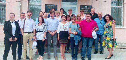 Vizita unui grup de primari și oaspeți din Polonia, Ucraina și Georgia la Cruzești.