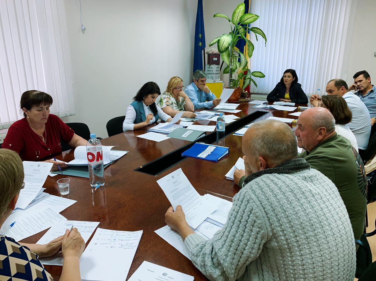 Ședința ordinară a Consiliului local Cruzești
